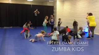 Zumba Kids game - Freeze Dance (contact me for private events or birthday parties kids ages 4-9)