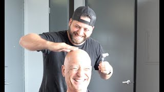 DID MY DAD ACTUALLY LOSE HIS HAIR?? - w/ Howie Mandel