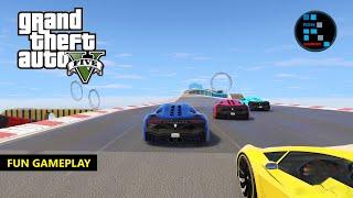 GTA V | AMAZING STUNT RACE CHAMPIONSHIP FUN GAMEPLAY
