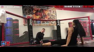 UFC gym - Stretching - Alex Lee Training System