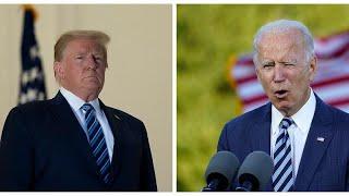 Donald Trump recusa debate virtual com Joe Biden