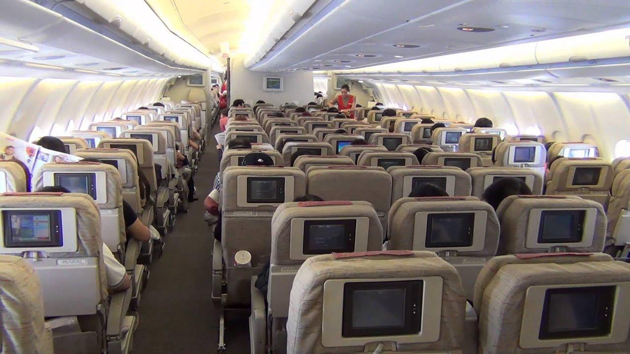 Asiana Flight 722 Hong Kong To Seoul On An Airbus A333