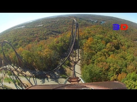 Wildfire 3D Front Seat on-ride HD POV Silver Dollar City