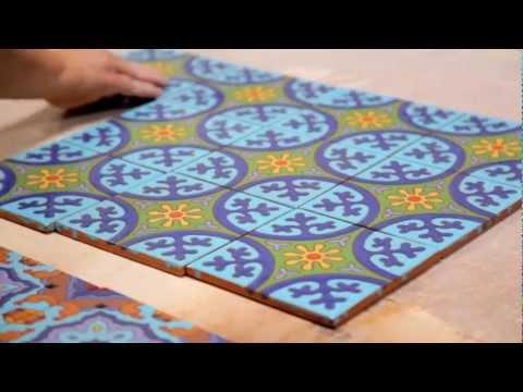Cuerda Seca Decorative Tile by Fireclay Tile / ViewPure