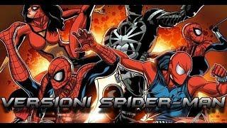 LE VERSIONI ALTERNATIVE DI SPIDER-MAN -MARVEL COMICS PARTE 2