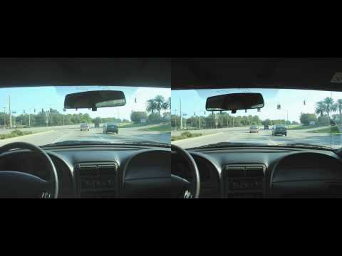 Time lapse 3d driving