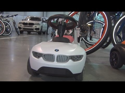 BMW Baby Racer III White (2016) Exterior and Interior in 3D