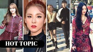 Jessica Jung, SNSD Sooyoung + SHINEE'S Minho, 2NE1's Dara & SULLI at NYFW 2015   HOT TOPIC!