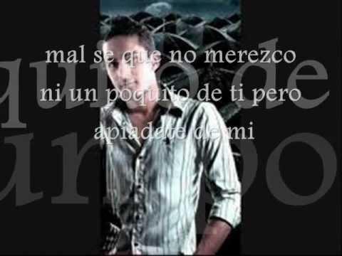 Paolo Plaza Perdóname (letra+música)