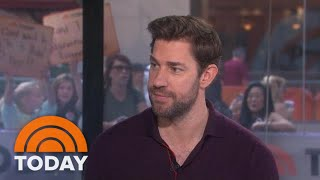 John Krasinski Opens Up About 'Jack Ryan' And His 'Office' Family | TODAY
