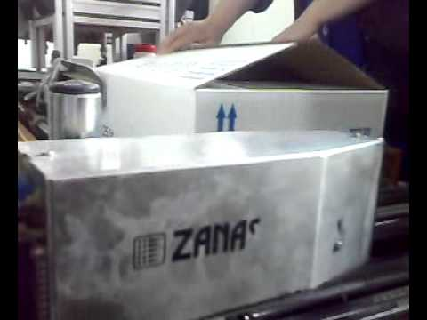 Zanasi Z303 on Corrugated Box