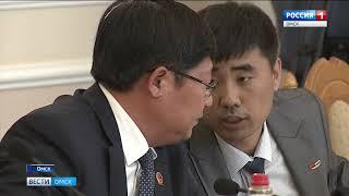 Делегаты собрания народных представителей Манчжурии сегодня с официальным визитом в Омске