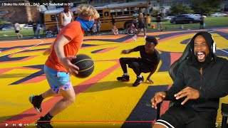 HOOPIEST STOP IT!! I Broke His ANKLES... BAD... 5v5 Basketball In DC!