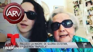 Muere la mamá de Gloria Estefan | Al Rojo Vivo | Telemundo