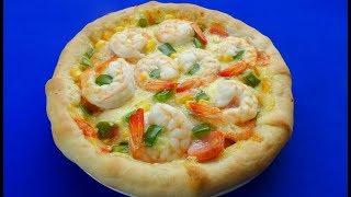 Cách làm PIZZA VIỀN PHÔ MAI tuyệt vời thơm ngon - Món Ăn Ngon