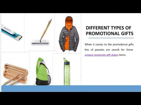 Different Types of Promotional Gifts for Your Brand Promotion