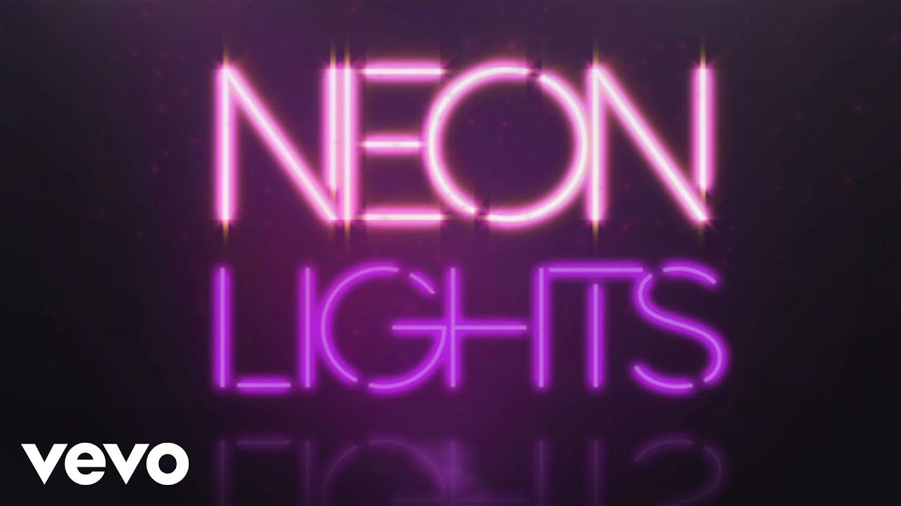 Demi Lovato Neon Lights Official Lyric Video Youtube
