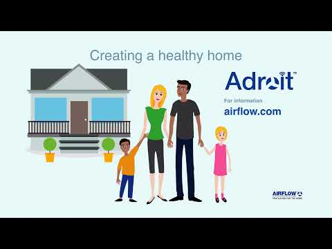 Airflow Adroit Domestic MVHR System