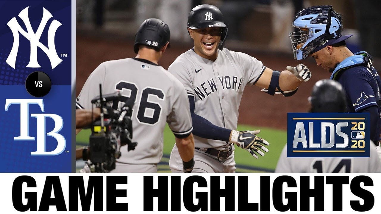 Aaron Judge, Giancarlo Stanton homer in Game 1 win | Yankees-Rays Game 1 Highlights