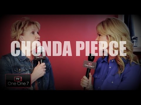 Chonda Pierce On ONE ONE 7 TV - YouTube