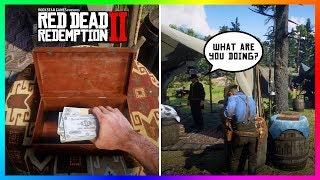What Happens If You Steal Money From The Camp Donation Box In Red Dead Redemption 2? (RDR2)