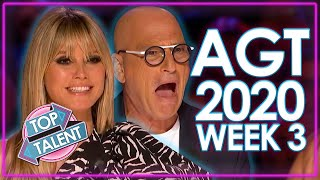 America's Got Talent 2020 AUDITIONS! | WEEK 3 | Top Talent