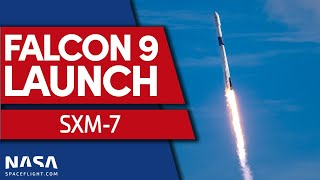 SpaceX Launches SXM-7 Mission on Falcon 9