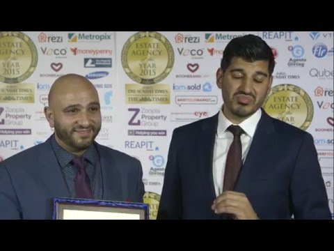 ANTHONY PEPE - BEST SMALL LONDON ESTATE AGENCY 2015