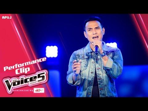 The Voice Thailand - แต๊ก อานนท์  - ไม่อยากหลับตา - 9 Oct 2016