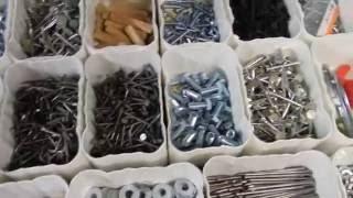 Clever DIY shop Organization