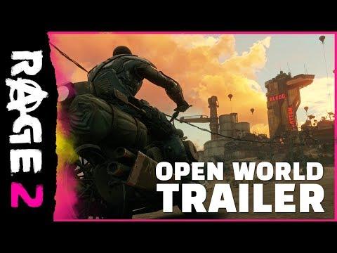 RAGE 2 – Trailer del mondo aperto