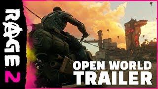 RAGE 2 - Trailer del mondo aperto