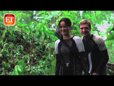 Catching Fire DVD/Bluray Outtakes with Jennifer & Josh from Entertainment Tonight