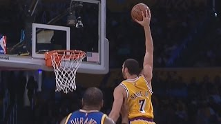 Lakers Stun Warriors! Nance JR Poster! Golden State Warriors vs Los Angeles Lakers