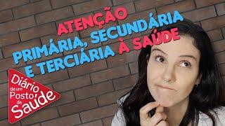 MIX PALESTRAS l O Que é a Atenção Primária, Secundária e Terciária à Saúde? l Luisa Portugal