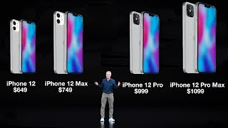 iPhone 12 Prices Leaked! The Full 2020 iPhone Lineup Explained!