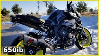 Yamaha MT-10 | On the STREETS of Cleveland