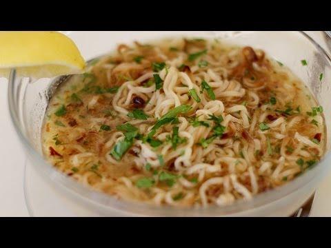 How to make Ramen noodles