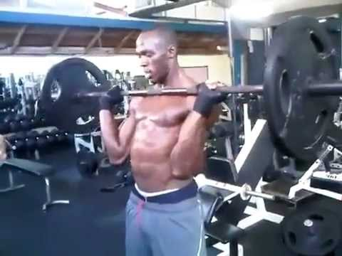 usain bolt practice weight training in the gym  youtube