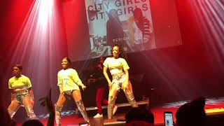 """City Girls """"Where The Bag At"""" Performance LIVE @ The National in Richmond, VA 9/9/18"""