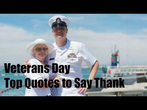 Veterans Day Top Quotes to Say Thank You