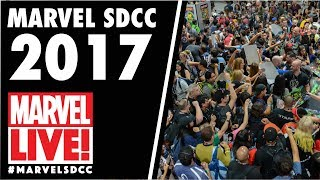 Marvel Becoming: Dora Milaje on Marvel LIVE! at San Diego Comic-Con 2017