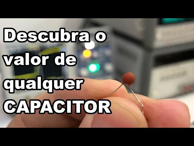 DICA EXCELENTE PARA DESCOBRIR VALOR DE CAPACITORES!