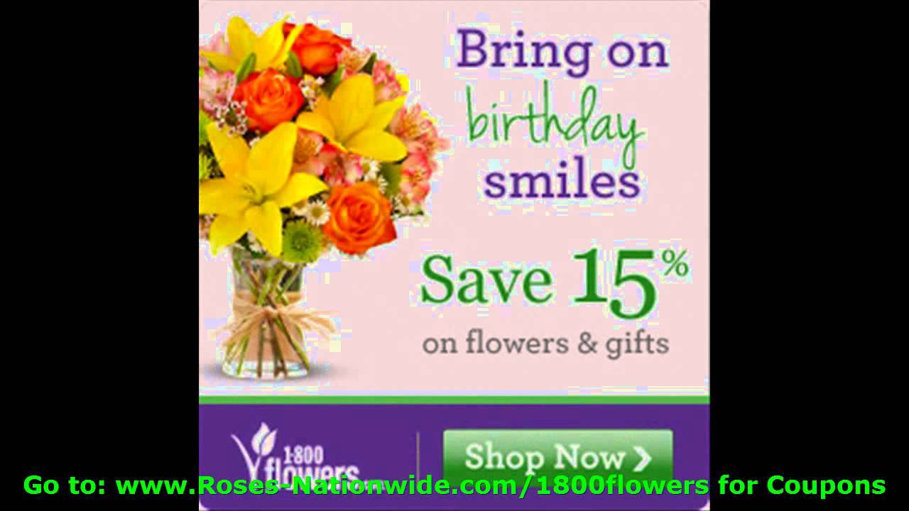 Flower coupon codes