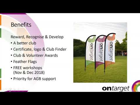 Club OnTarget Specialisms Webinar – September 2018