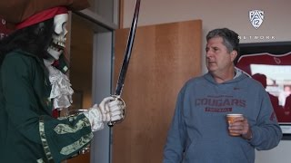 'The Drive' preview: Washington State's Mike Leach gives a unique tour of his signature pirate...