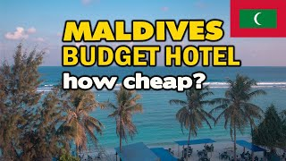 $50 BUDGET HOTEL IN MALDIVES | ROOM TOUR