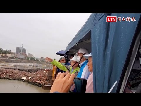 視察梅雨季排水 韓國瑜︰武漢肺炎、登革熱、豪大雨是3大敵人