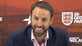 Gareth Southgate Presser - Names 23-Man Squad For Spain & Switzerland Fixtures - Luke Shaw Recalled