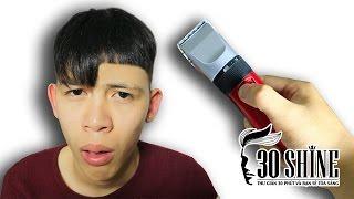 Monster NTN đi từ Thái Bình lên cắt tóc ở 30Shine